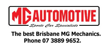MG Automotive Brisbane Logo